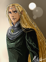 Another Glorfindel doodle by MellorianJ
