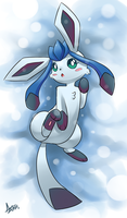 Glaceon by AzureBladeXIII