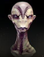 Alien Dude Sculpt by TLishman