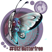#012-Butterfree by SoraValtieri