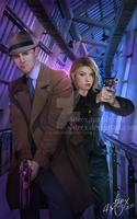 ebook cover: 'Levi Garret, Space Detective3' by 4steex