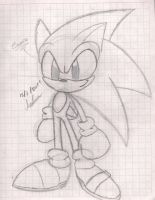sonic oter stile by andreahedgehog