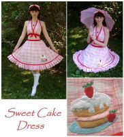 Sweet Cake Dress by sakurafairy