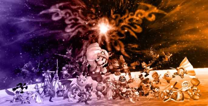 Super Smash Brothers Brawl by Blucaracal