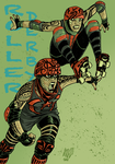 Roller Derby by Paterdixit