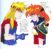 Lina and Gokudo a likely pair by sharyamato