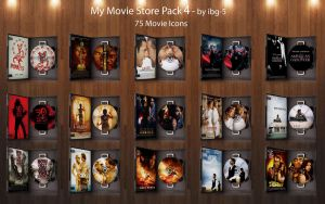 My Movie Store DVDs Pack 4 by ibg-5