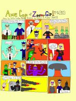 Axe Cop and Zoom-Girl by BARproductions