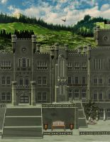 The Old Castle by chamirra