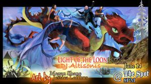 Ad: Light of the Loon @ The Spot by cephaloneiric
