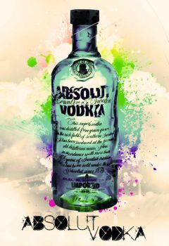 absolut_ vodka by Troxzy