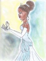 Tiana from Princess and the Frog by Singasong