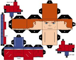 Cubee Craft Orion DC Super Heroes by handita2006
