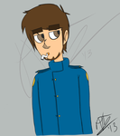 Here's A Paul Drawing For Ya by PvtLavaRunner