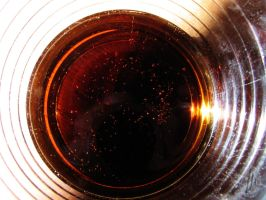Galaxy in a cola glass by AfricanObserver