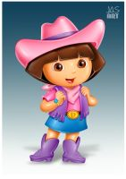 DORA THE EXPLORER by hasmot