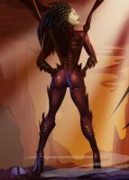 Kerrigan Pin Up by morganagod