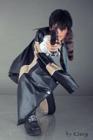TYL Xanxus Shoot by zerkalozero