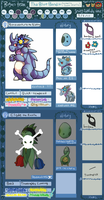 The Blue Bandit (2.0) (formerly Team Manly) by Trinosaur