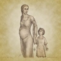 Blessed Motherhood by aautio