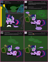 Scootaling #15: Re-Education of Twilight Sparkle by TDarkchylde