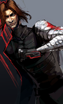 Captain America -Winter Soldier Sketch- by lightning-seal