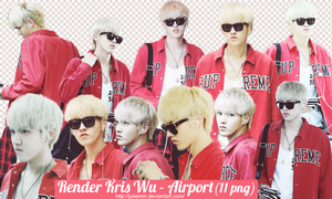 [ PNG PACK ] Kris Wu render - EXO by JulieMin