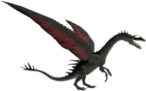 Long Snouted Dragon 01 by 2ndecho