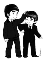 George and Ringo by Sadyna