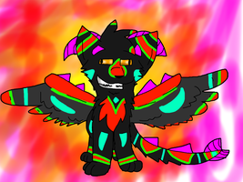 FLASHY COLORS AND PURDY ANIMALS (I was bored) by Tangerine282