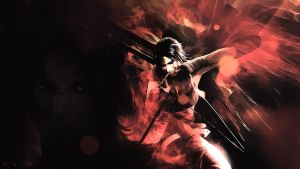 The new tomb raider wallpaper by Mrbarclonista