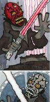 Star Wars Galactic Files - Darth Maul by 10th-letter