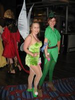 Peter Pan and Tink by laughingdaredevil