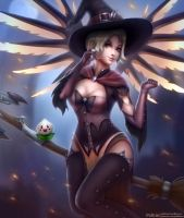 Witch Mercy by Polkin