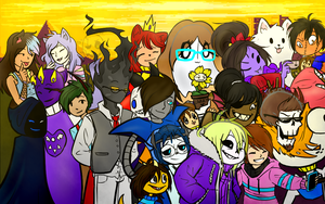 Friendtale Pic Group by Luziland2