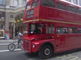 London bus by cekcek