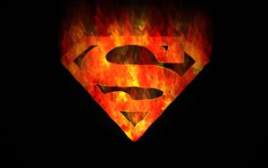 Superman Flame by crazySmiley