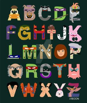 TMNT ABCs by mbaboon