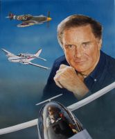 Cliff Robertson by Paluso4art