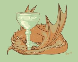 Smaug by winter-ghost
