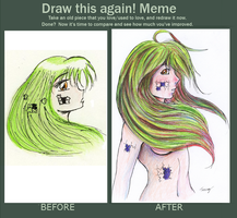 Before n After meme: Puzzle by Tessay