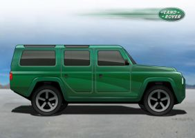 Land Rover Defender 2 by tmr5555