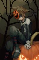 Sora Halloween Town by Advanced-Random
