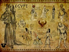 Costume Class: Egypt by Rockman0