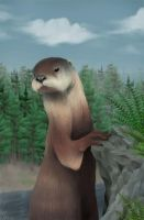 River Otter by Ribera