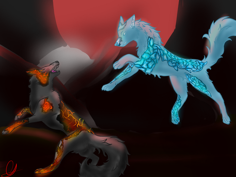 Frost vs Magma - @WG by Wolvesgonwild