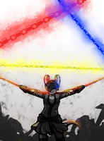 INCANDESCENT- Color Theory Final Project (Triad) by BuddhatheBob