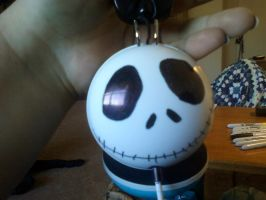Jack n Sally Headphones Jack Side by MotherEarthGaea09