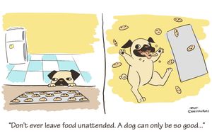 Cooking with Dogs Part 1 by LissyFishy