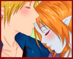 Oh kiss me Baby by A-Unmei